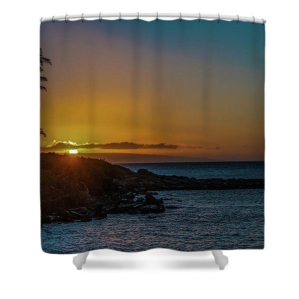 Sunset On Kapalua Shower Curtain