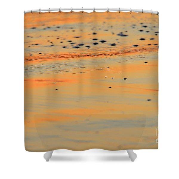Sunset Tide Shower Curtain