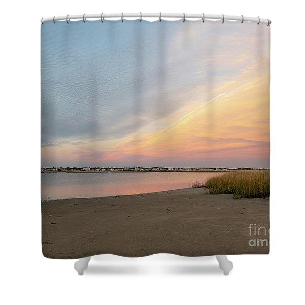 Sunset West Dennis Cape Cod Shower Curtain