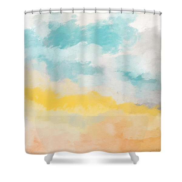 Sunshine Day- Art By Linda Woods Shower Curtain