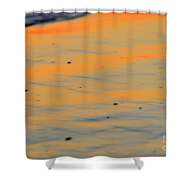 Surf And Sand Afterglow Shower Curtain