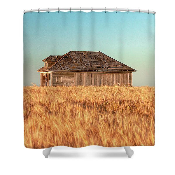 Surrounded With Wheat Shower Curtain