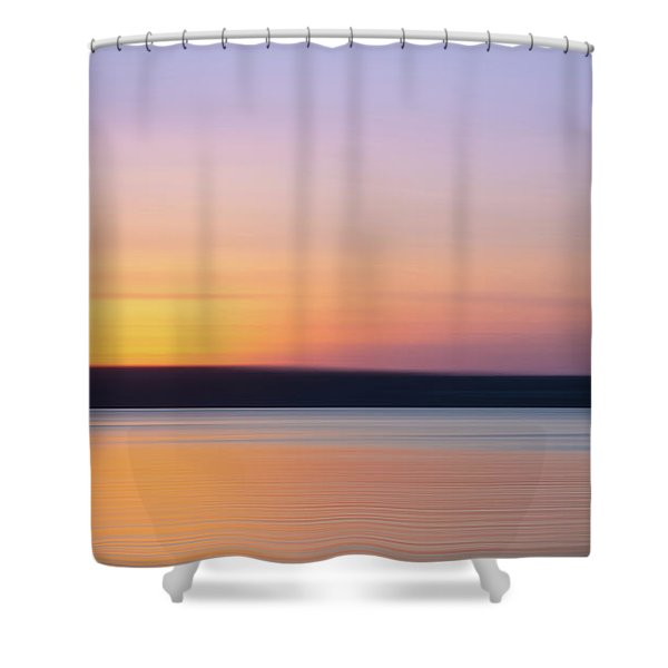 Susnet Blur Shower Curtain
