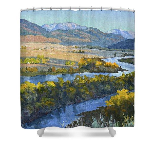 Swan Valley Shower Curtain
