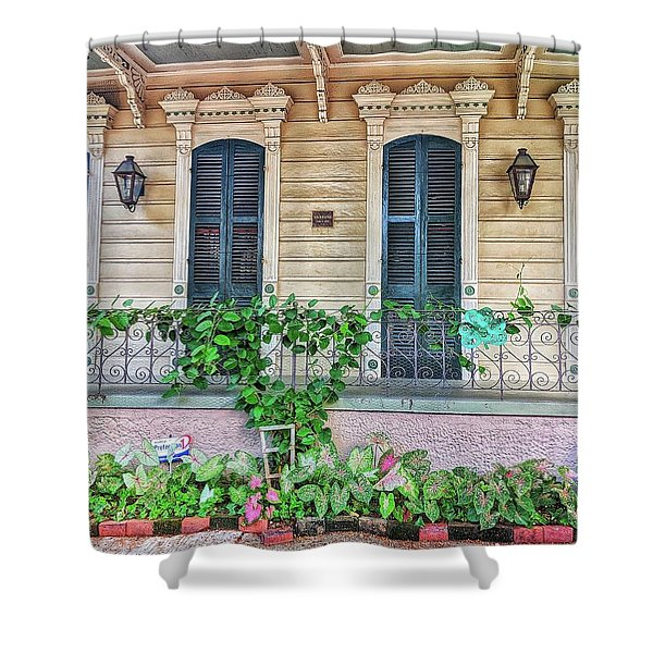Sweet Cream And Ivy Shower Curtain