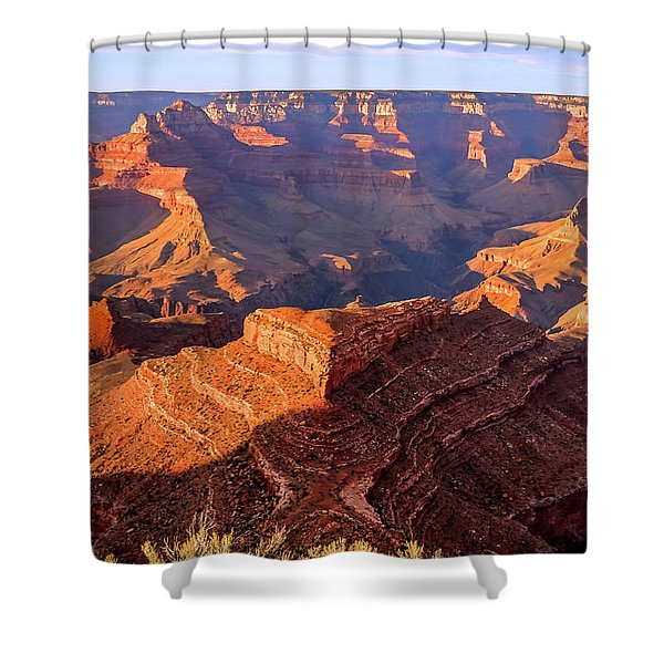 Shower Curtain featuring the photograph Sweet Sunset by Dawn Richards