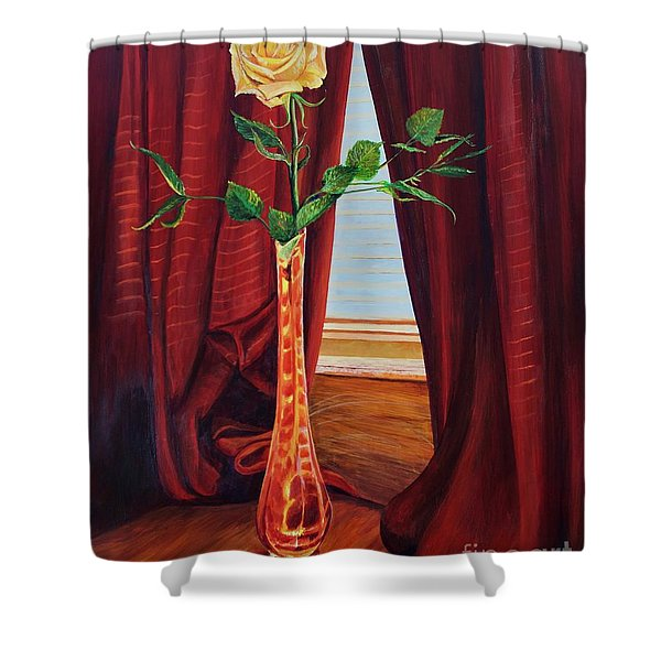 Sweetheart Day's Rose Shower Curtain