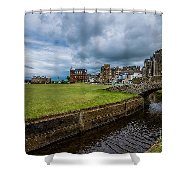 Swilcan Burn - The Old Course  Shower Curtain