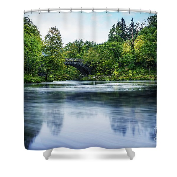 Swirling Dreams Shower Curtain