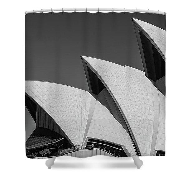 Sydney_opera Shower Curtain