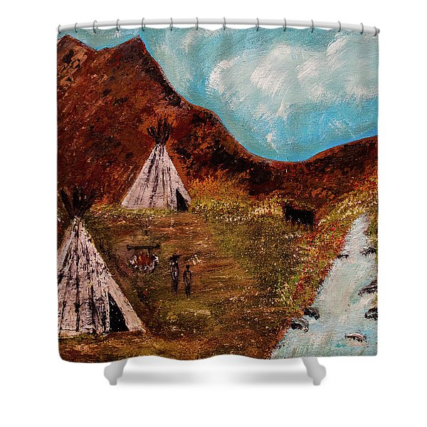 T- Pee Shower Curtain
