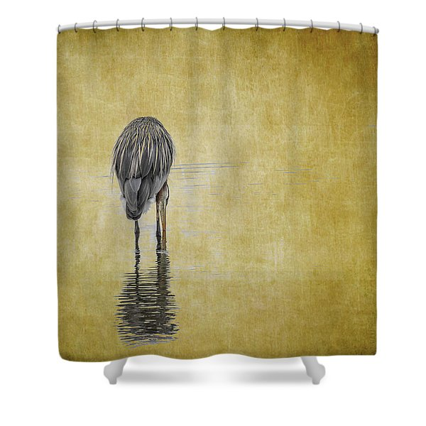Table For One Shower Curtain