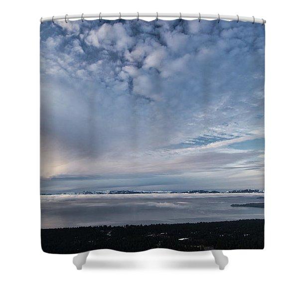 Tahoe Sky Shower Curtain