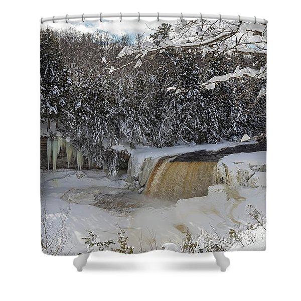 Tahquamenon Falls Shower Curtain