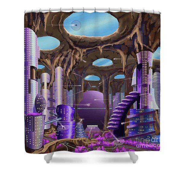 Tandalo, Sferogyl's Capital Shower Curtain