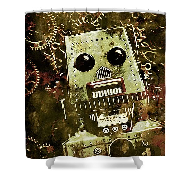 Tanker The War Mech Shower Curtain