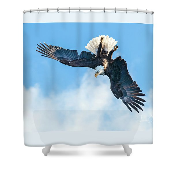 Target Acquired Shower Curtain