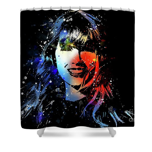 Taylor Swift Art Shower Curtain