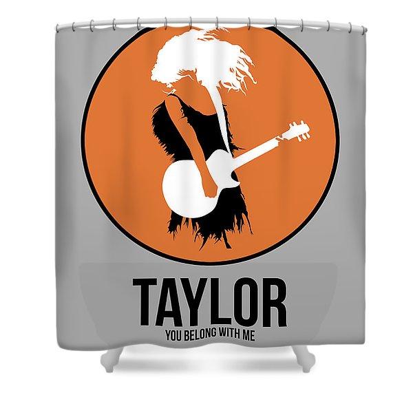 Taylor Swift Shower Curtain
