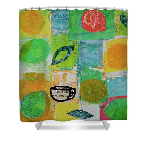 Tea Box 2 Shower Curtain