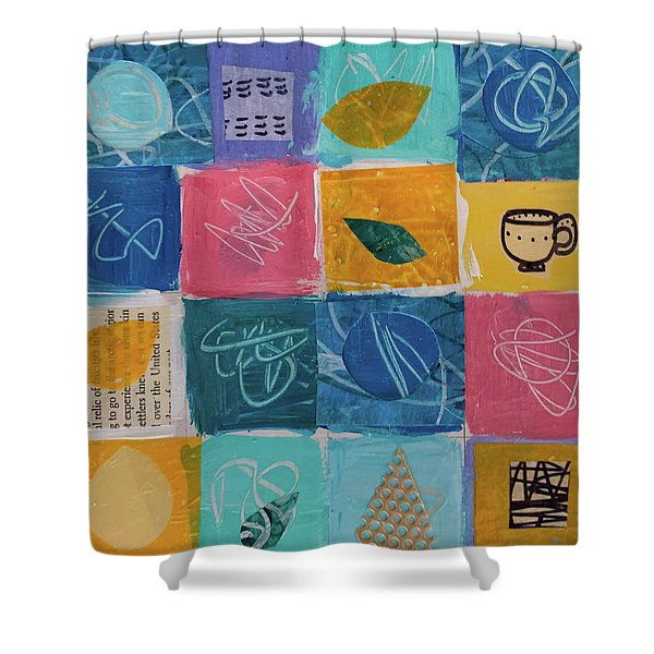 Tea Box One Shower Curtain