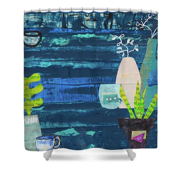 Teatime Three Shower Curtain