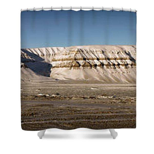Tempelfjord Svalbard Shower Curtain