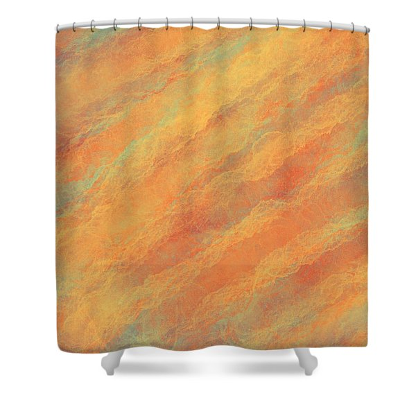 Tempered Lava Shower Curtain