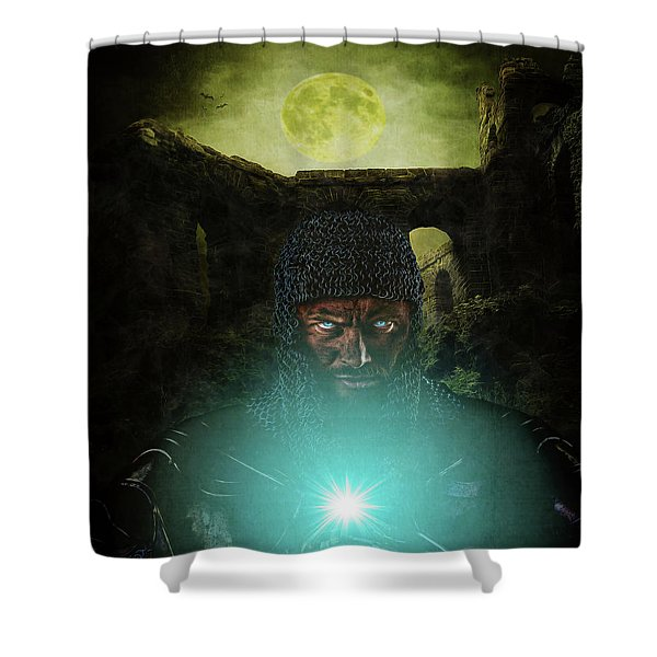 Templar Shower Curtain