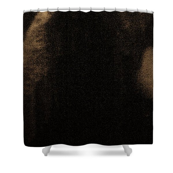 Shower Curtain featuring the photograph Tenderness by Catherine Sobredo