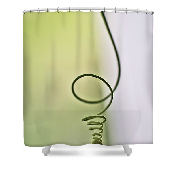 Shower Curtain featuring the photograph Tendril by Meta Gatschenberger