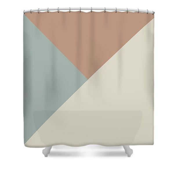 Terrazzo Corners 2- Art By Linda Woods Shower Curtain