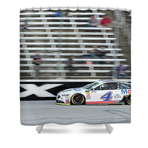 Texas Motor Speedway Shower Curtain