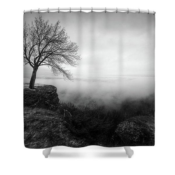 Thacher Scenic Overlook Shower Curtain