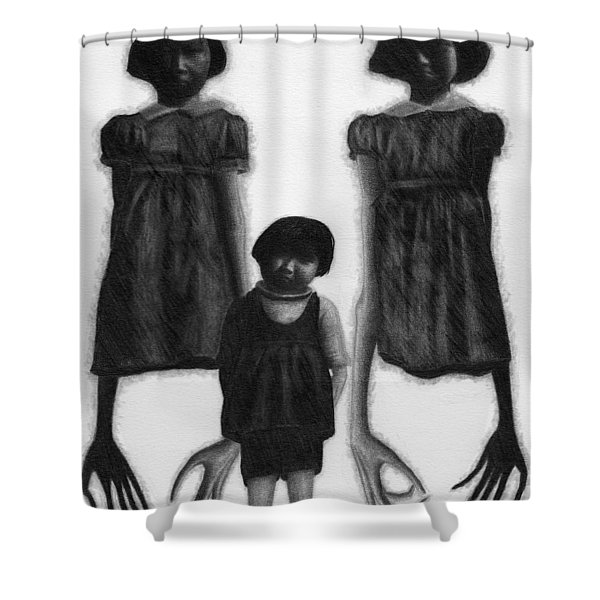 The Abberant Sisters - Artwork Shower Curtain