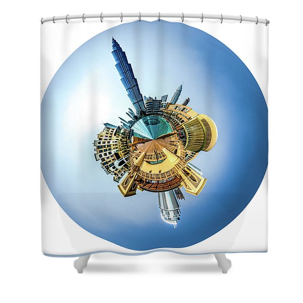 The Amazing Burj Khalifa Shower Curtain