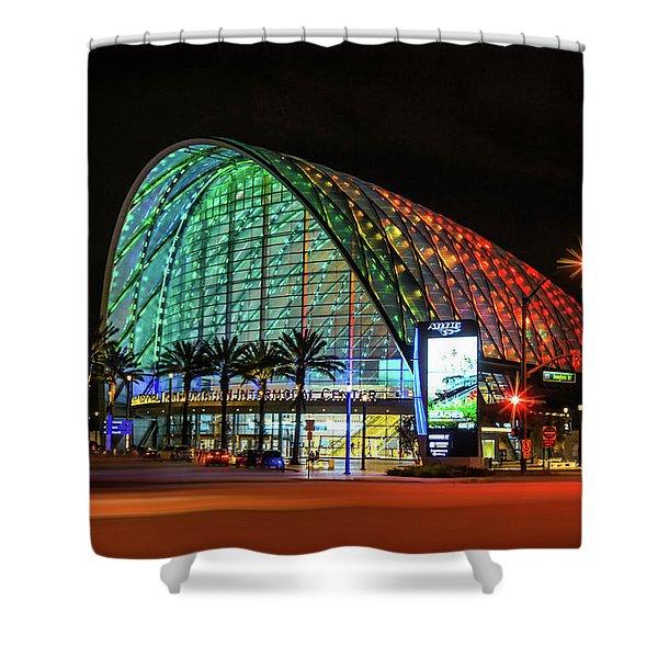 The Anaheim Regional Transportation Intermodal Center, California Shower Curtain