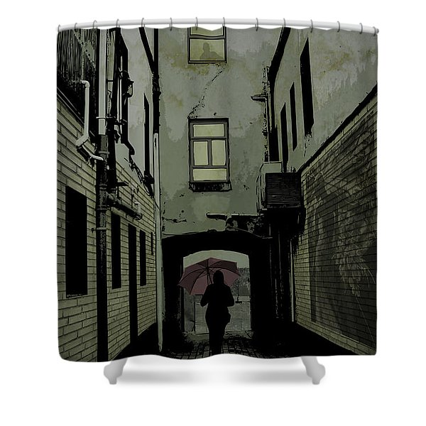 The Back Way Shower Curtain