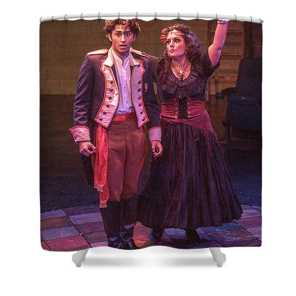 The Bad Brother And The Gypsy Shower Curtain