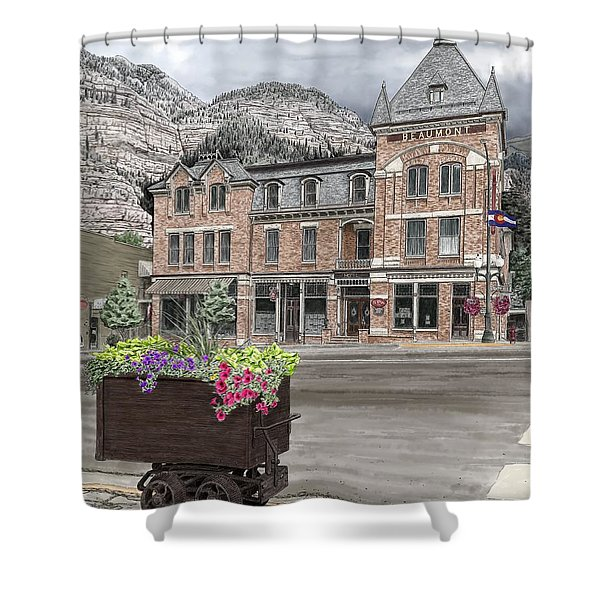 The Beaumont Hotel Shower Curtain
