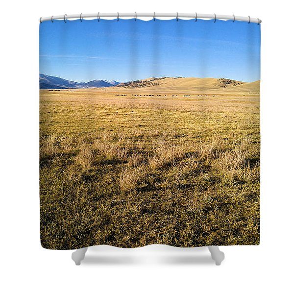 The Beautiful Valley Shower Curtain