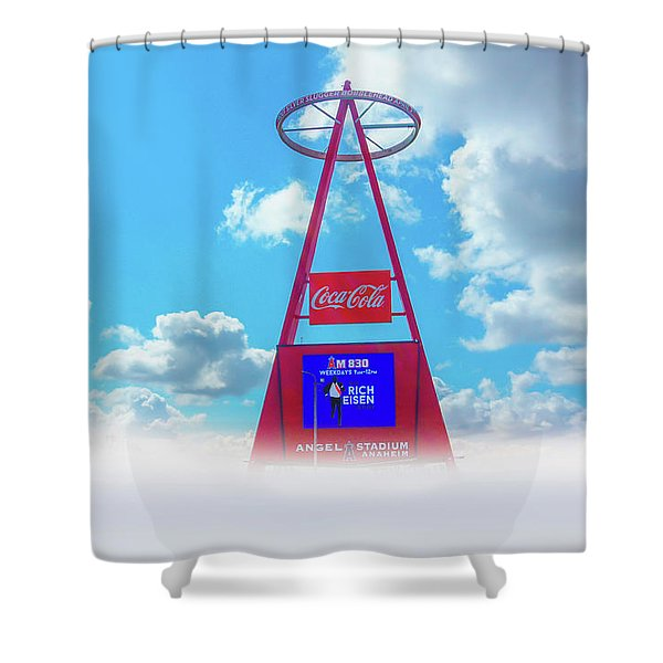The Big A Sign Shower Curtain