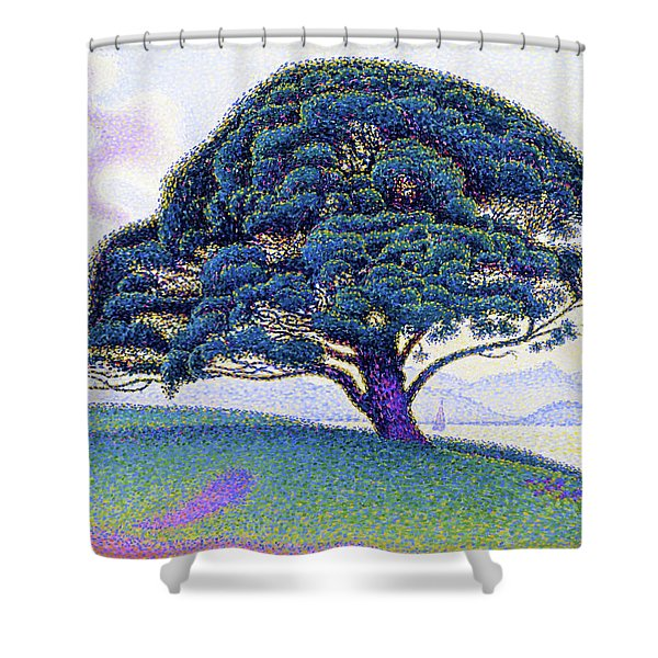 The Bonaventure Pine - Digital Remastered Edition Shower Curtain