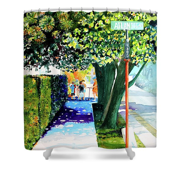 The Boys Of Summer Shower Curtain