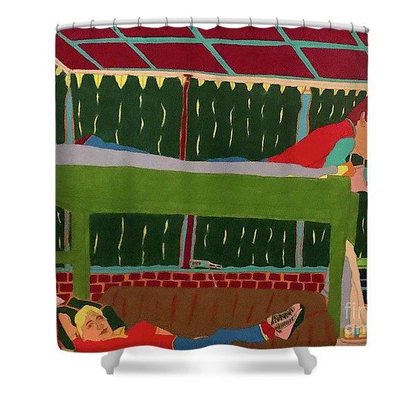 The Bunk Shower Curtain