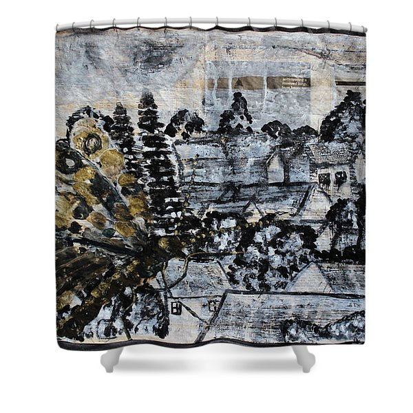 The Butterfly Affect Shower Curtain