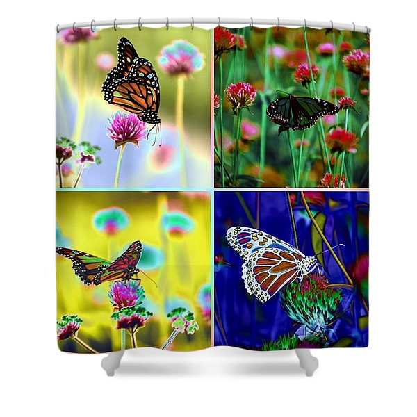 The Butterfly Collection 1. Shower Curtain
