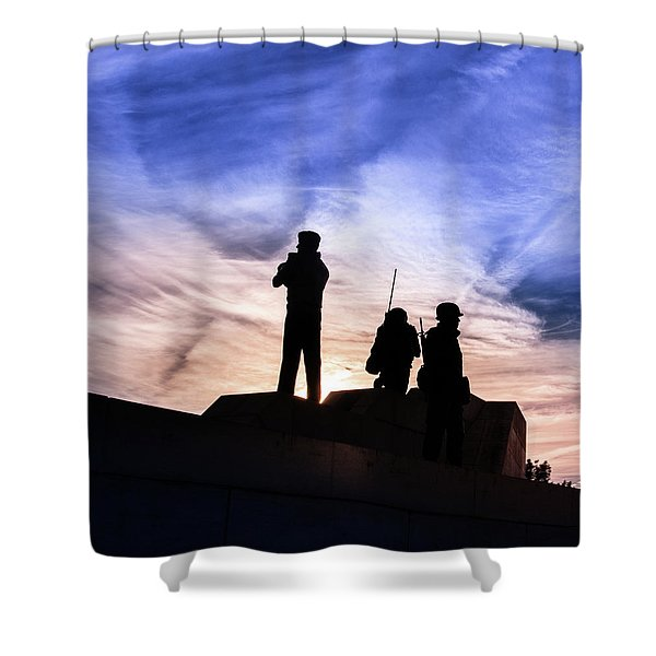 The Canadian Peacekeepers Shower Curtain