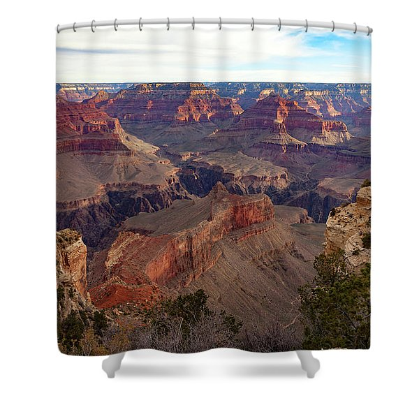 The Canyon Awakens Shower Curtain