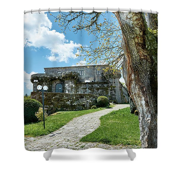 The Castle Of Villamarin Shower Curtain